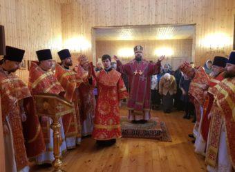 Престольный праздник в храме мч. Меркурия Смоленского с. Первомайский