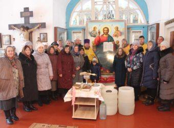 Рабочая поездка по Приходам Починковского благочиния