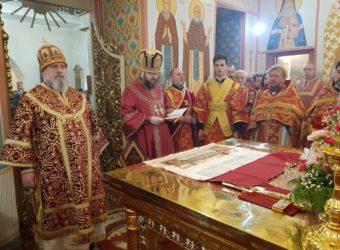 Божественная Литургия в Спасо-Преображенском монастыре в день памяти Великомученицы Варвары Илиопольская