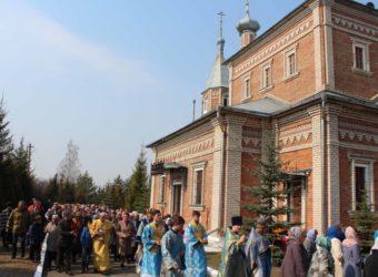 Престольный Праздник в храме Благовещения Пресвятой Богородицы г. Починка