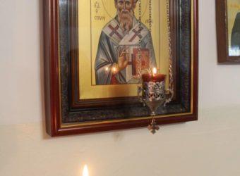 Божественная Литургия в молитвенном доме деревни Мачулы