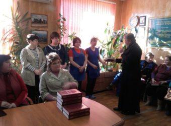 Рабочая встреча в Починковской швейной фабрике