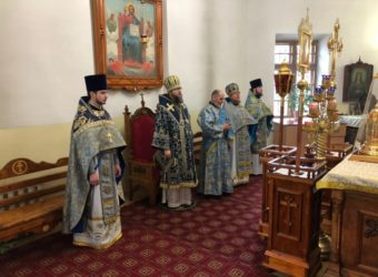 Престольный Праздник в храме Благовещения Пресвятой Богородицы г. Починок
