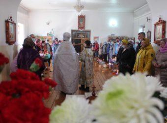 Великая Суббота в храме Благовещения Пресвятой Богородицы