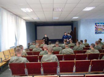 Встреча с военнослужащими в Шаталово