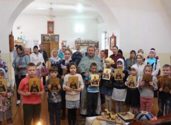 Молебен на начало учебного года и Благотворительная акция «В школу с радостью»